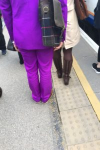Purple Suit Man