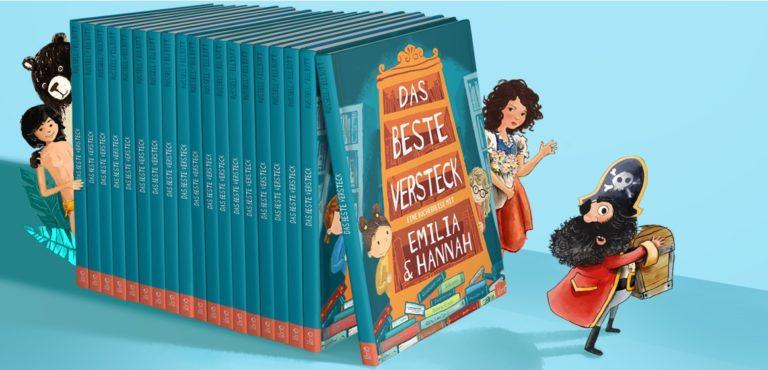 Buch Das beste Versteck mit Mogli, Pirat, Bär und Heidi