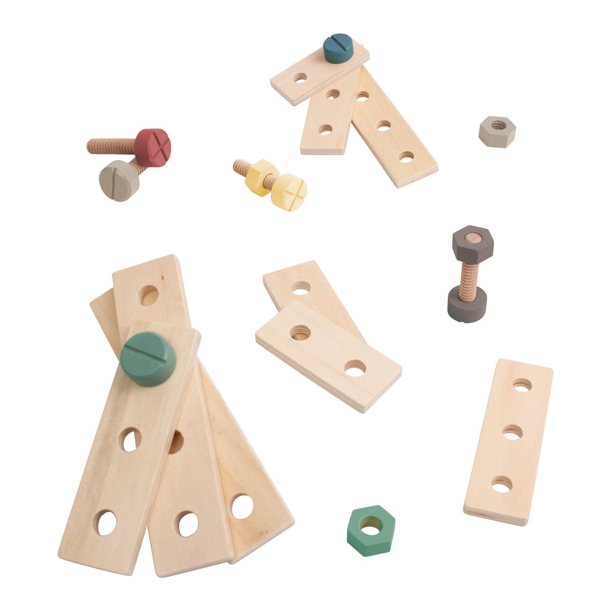 Sebra-Bau-Spielset-aus-Holz-warmes-grau-Freisteller