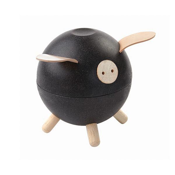 Spardose-Piggy-bank-schwarz-Plan-Toys