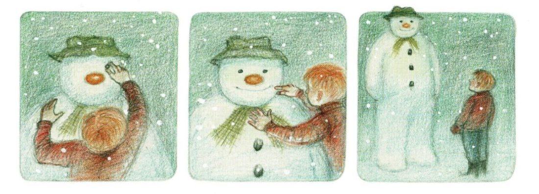 Storyboard of The Snowman