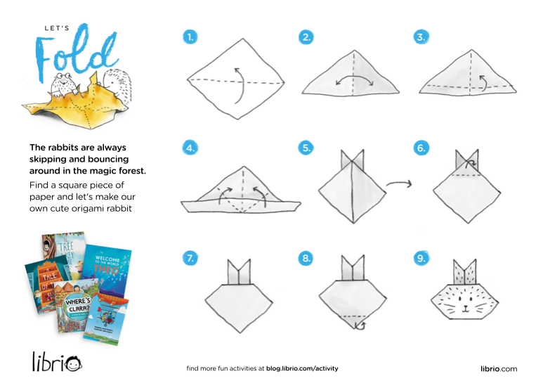 printable activities, downloadable activities, kids work sheets, rainy day activities, kids origami, easter rabbit origami