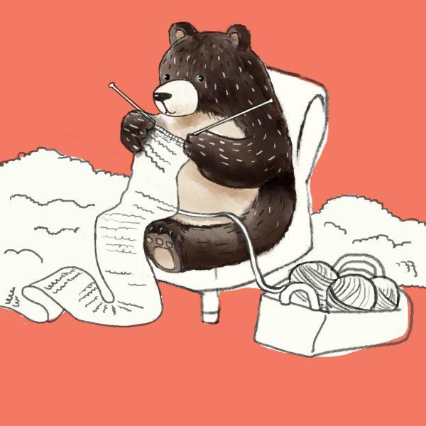 Librio Bear Knitting