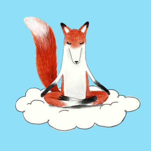 Librio Meditating Fox
