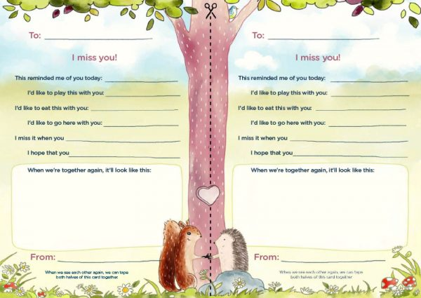 Librio Miss You Letter