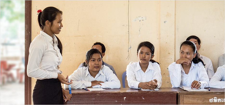 Room To Read Librio Girls Education Cambodia Header