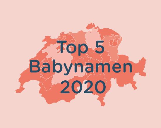 Top Babynamen in der Schweiz