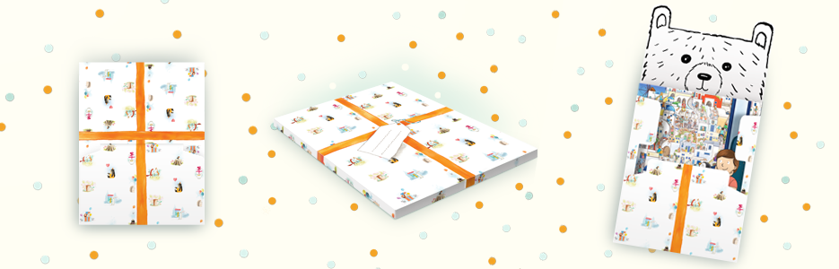 Librio Recycled Gift wrap