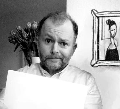 Nick, der kreative Kopf hinter den personalisierten Grußkarten von Librio
