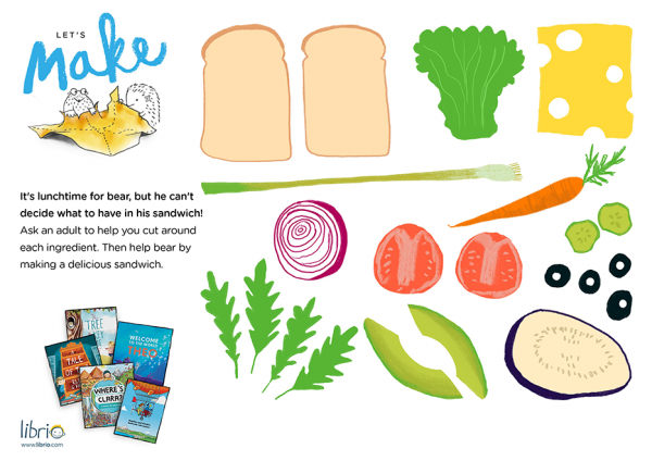 Bear Sandwich ingredients
