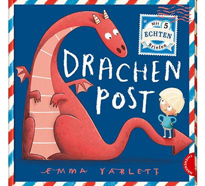 Cover Drachen Post von Emma Yarlett: Junge und Drache