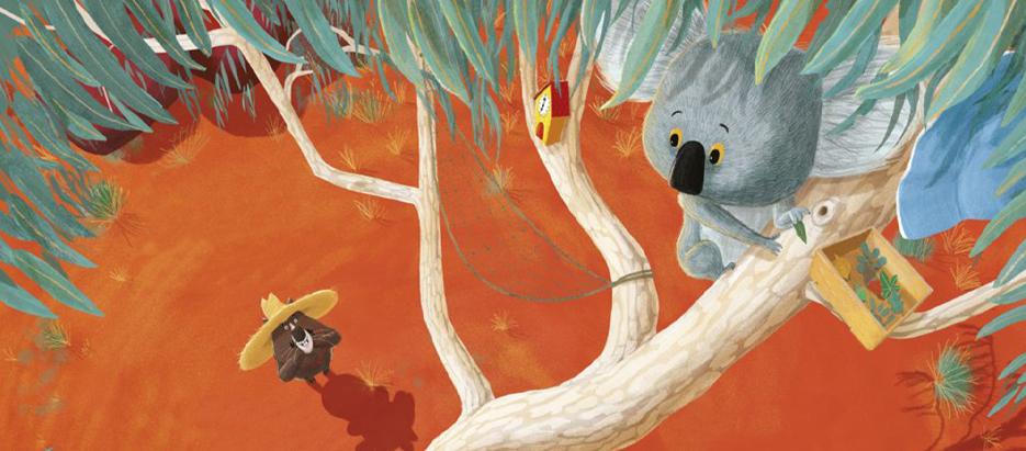 The Koala who Could blog header