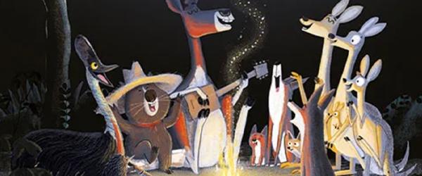 """Ausschnitt aus """"Trau dich, Koalabär"""": Australische Tiere am Lagerfeuer"""