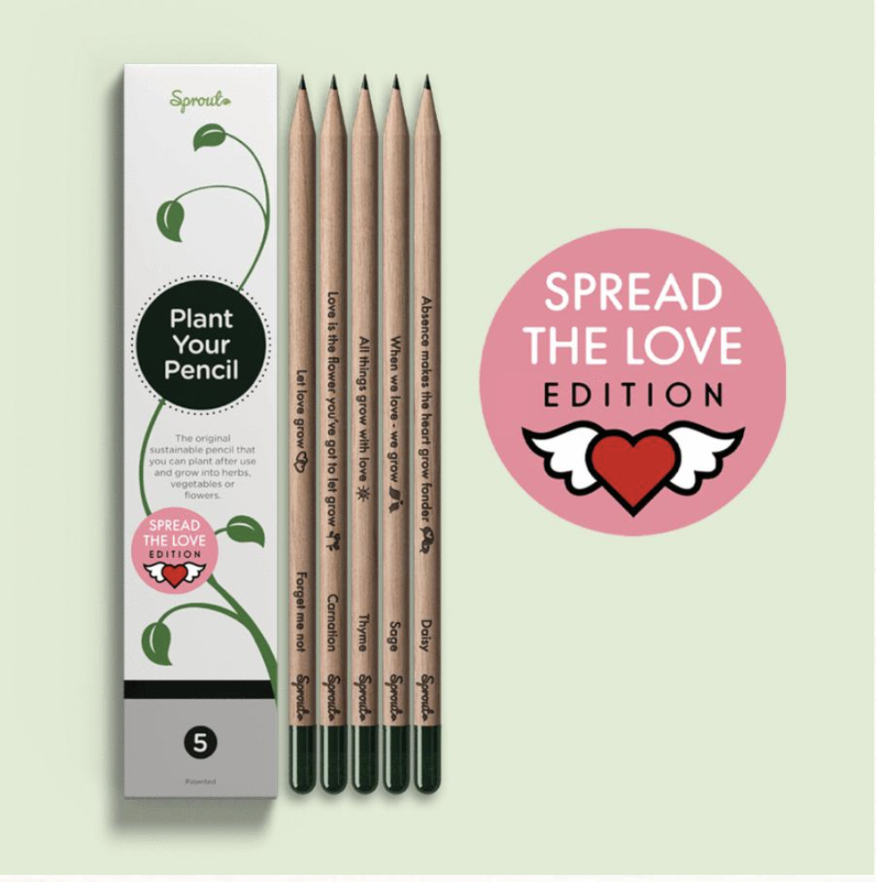 Spread the Love Pencil from Sprout