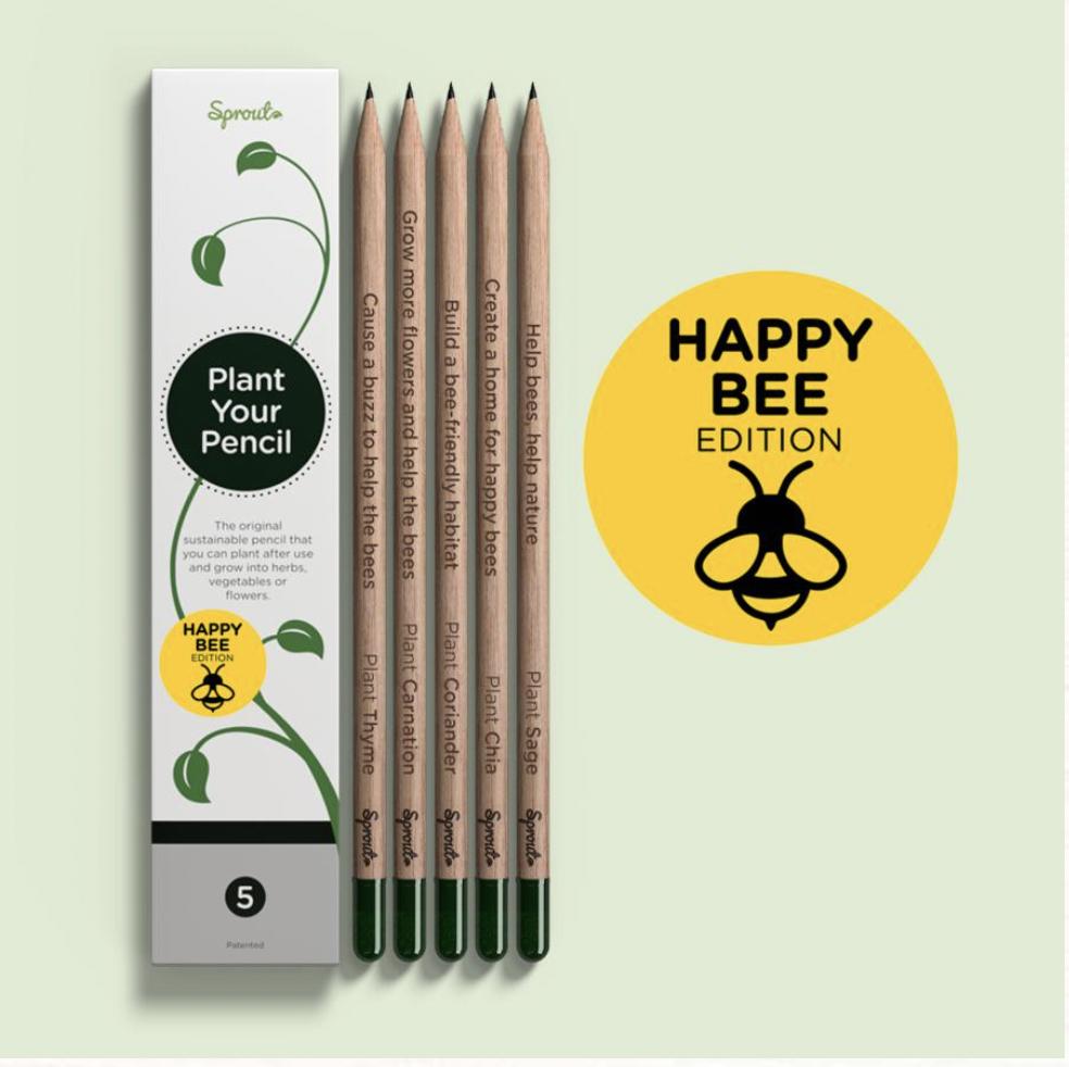 Sprout Happy bee pencil