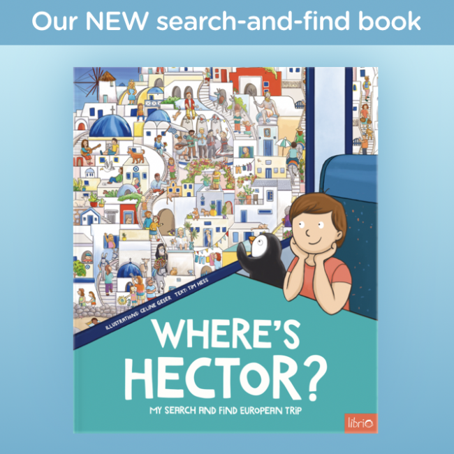 Search and Find Europe Book cover