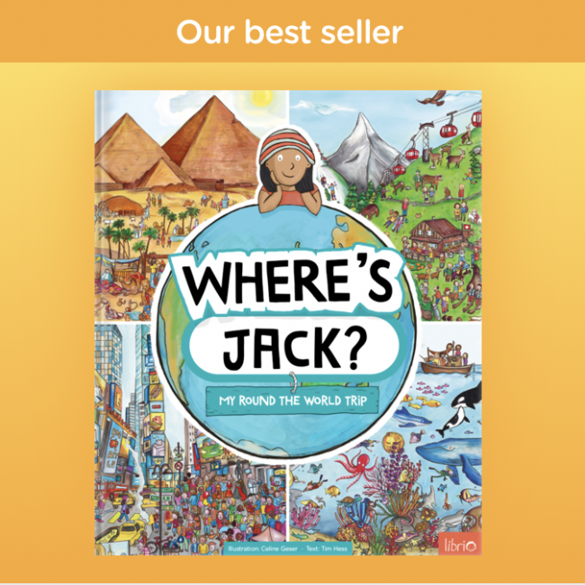 Search and Find World book cover