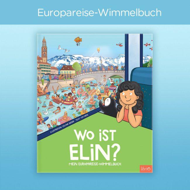 Europareise-Buch von Librio