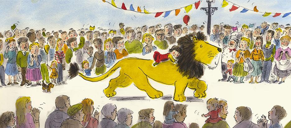 Hide a Lion parade