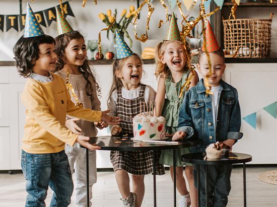 Kindergeburtstag: Geburtstagswünsche für Kinder