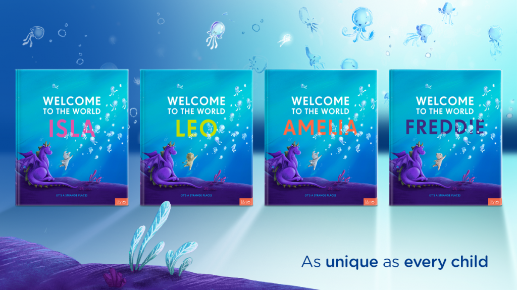 Selection of Welcome to the world covers